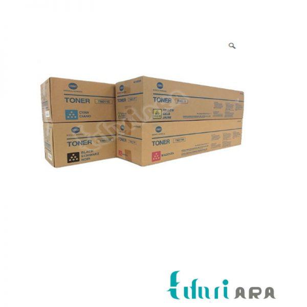 کارتریج تونرکونیکامینولتا زرد مدلKonica Minolta C451/C550