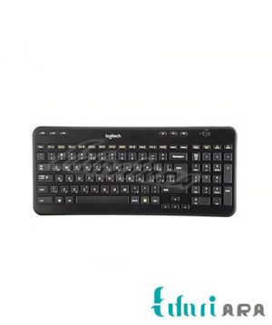 کیبورد بی سیم لاجیتک مدل K360 با حروف فارسی