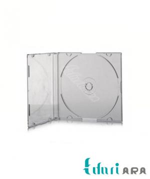 قاب CD و DVD باریک کف شفاف
